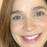 Sabrina Petraglia fez uma rara aparição com a filha