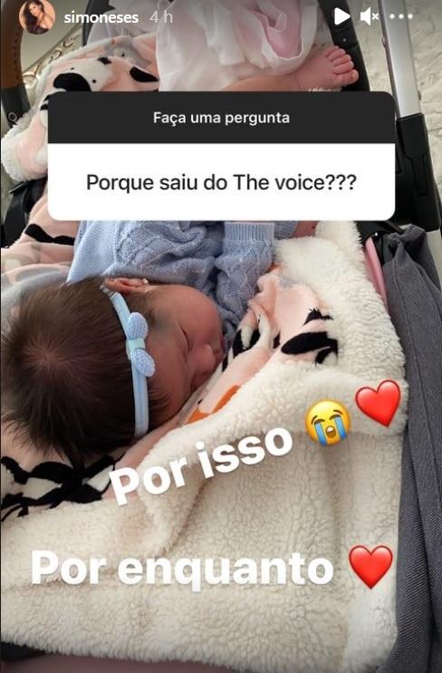 A bebê da cantora Simone, a pequena Zaya