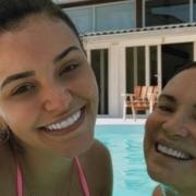 Talita Younan mostrou sua bebê, que é neta da atriz Regina Duarte