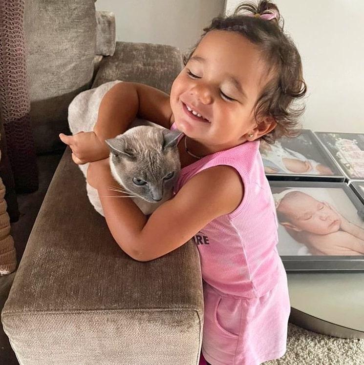 A bebê de Ticiane Pinheiro com César Tralli