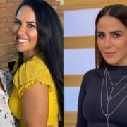 Graciele Lacerda apareceu junto com Wanessa Camargo e os filhos