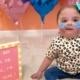 A bebê nasceu com uma síndrome cardíaca
