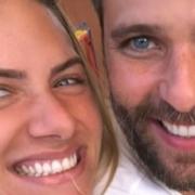 Bruno Gagliasso e Giovanna Ewbank revelaram foto nunca vista antes de Bless ainda bebê