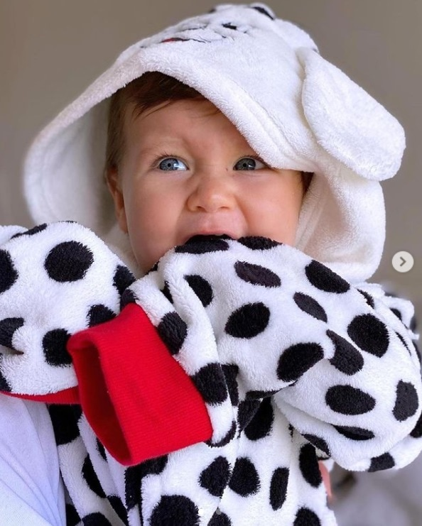 O bebê do ator Bruno Gagliasso, o pequeno Zyan