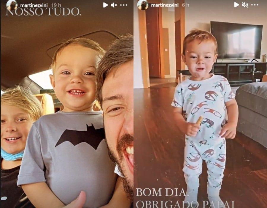 Filho de Neymar e o irmão caçula no novo lar de sua família