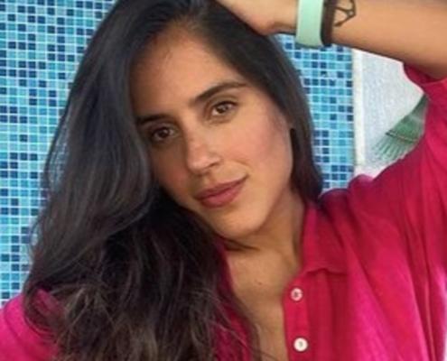 Camilla Camargo encantou ao mostrar a sua bebê de um mês