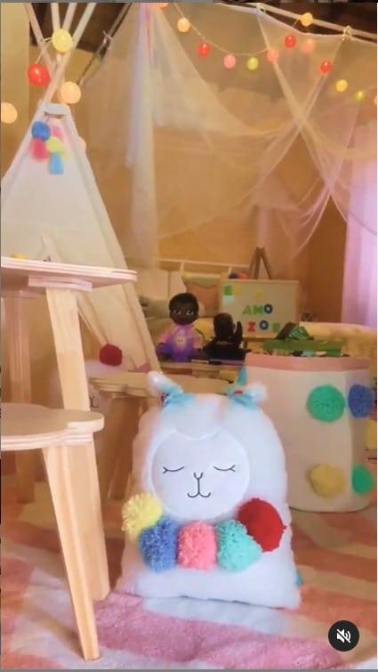 Duda Nagle e Sabrina Sato mostraram lindo quarto de Zoe