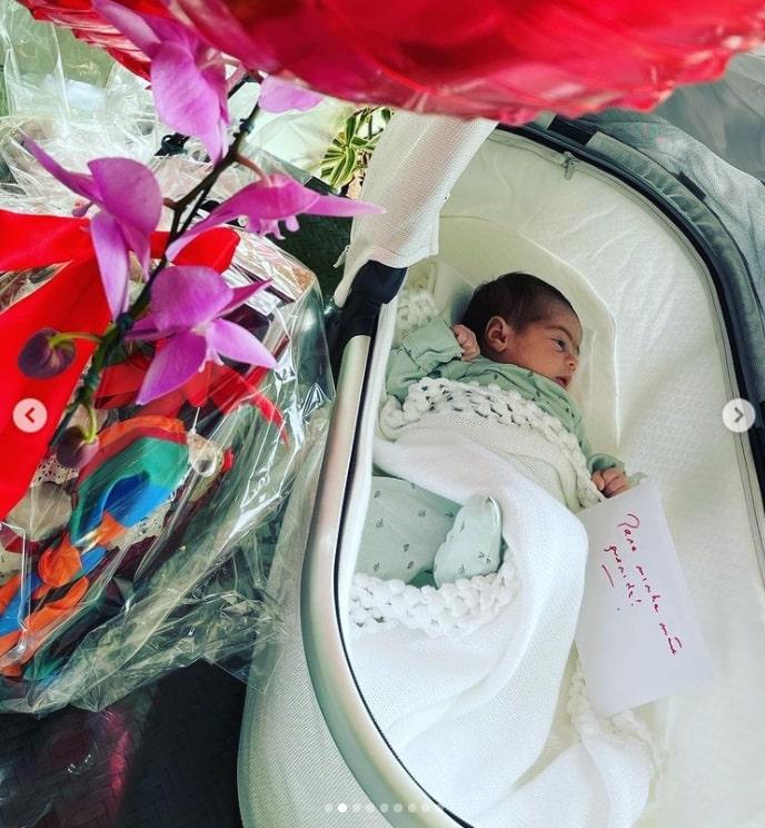 A filha recém-nascida do ator Fábio Assunção