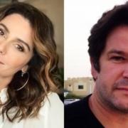 Giovanna Antonelli surgiu com o filho com Murilo Benício