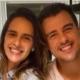 Joaquim Lopes e a esposa mostraram suas gêmeas