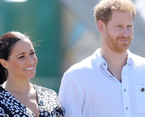 Meghan Markle e Harry mostraram uma nova foto de Archie