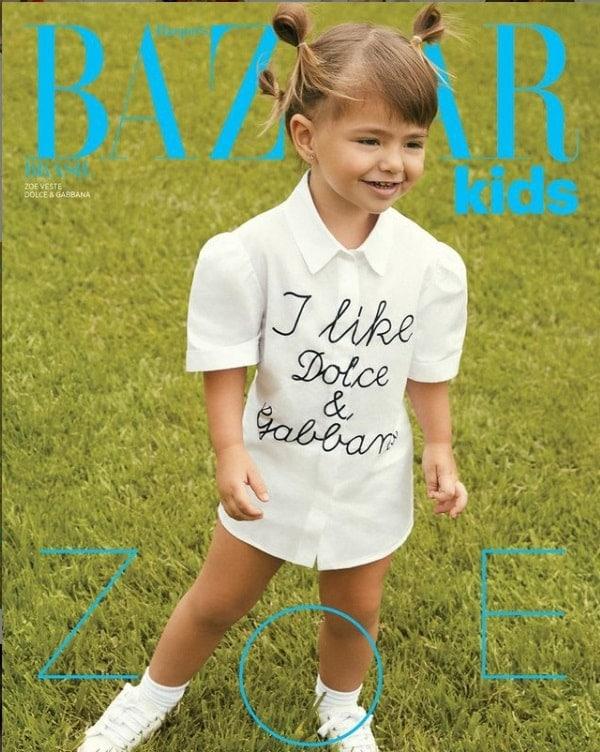 Filha de Sabrina Sato virou capa de revista