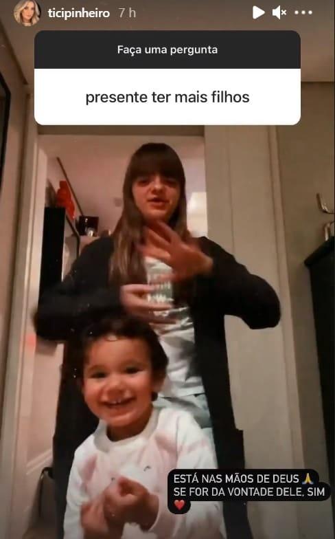 As duas filhas da apresentadora Ticiane Pinheiro