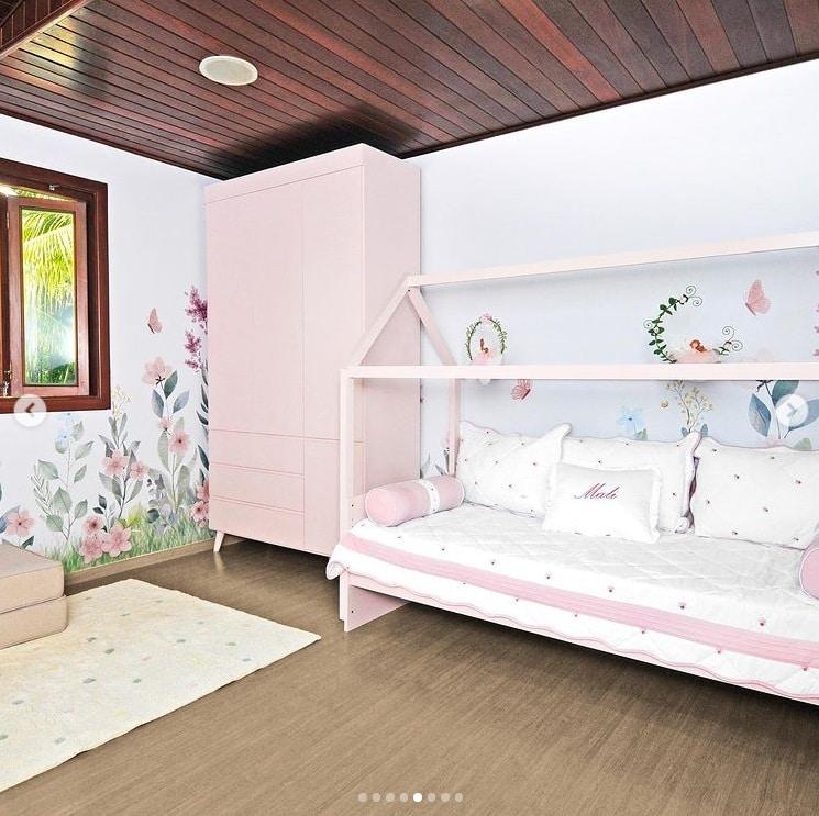 Detalhes do quarto da bebê de Virginia Fonseca