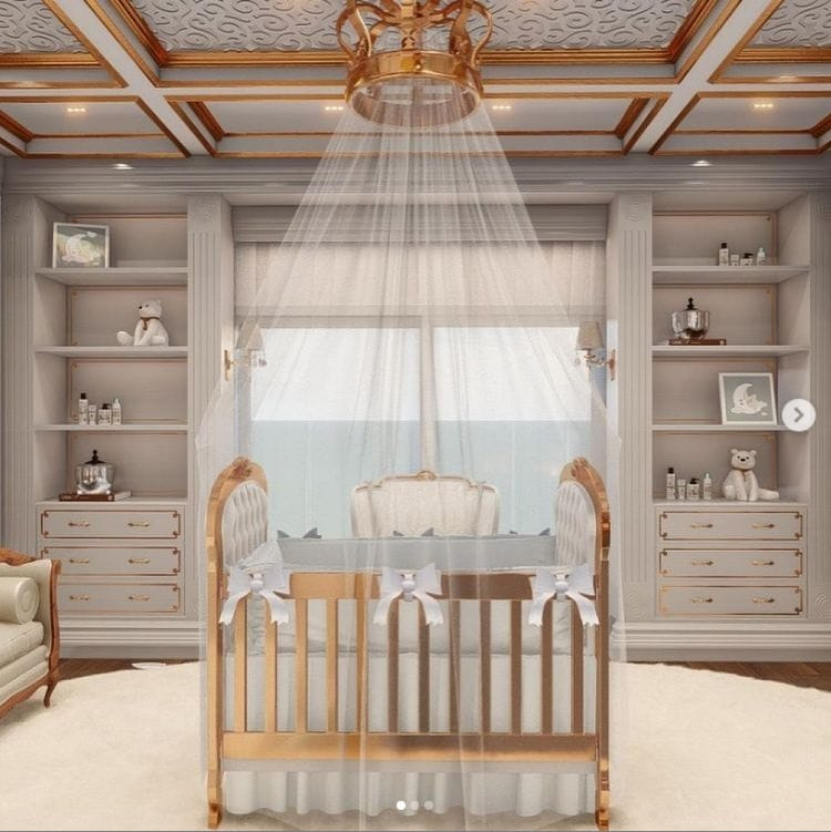 Projeto do quarto de João Miguel, filho de Whindersson Nunes