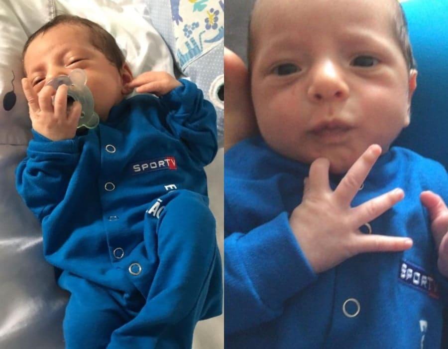 Os bebês de Andréia Sadi, os pequenos João e Pedro