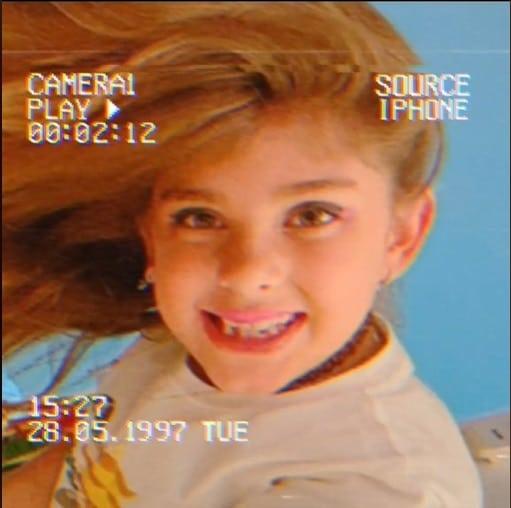 Filha de Grazi Massafera e Cauã Reymond, a menina Sofia