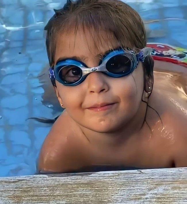 A pequena Marina, filha de Ivete Sangalo