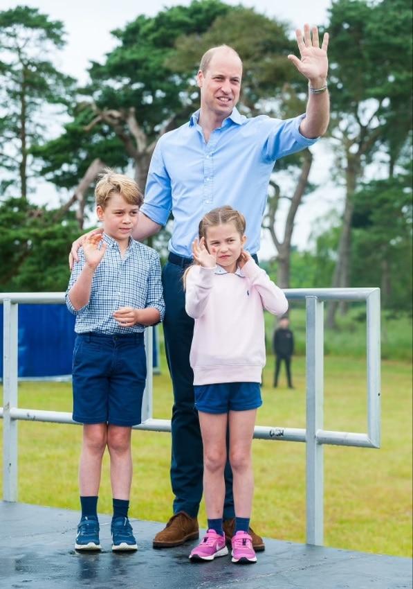 Filhos da duquesa Kate Middleton com o príncipe William