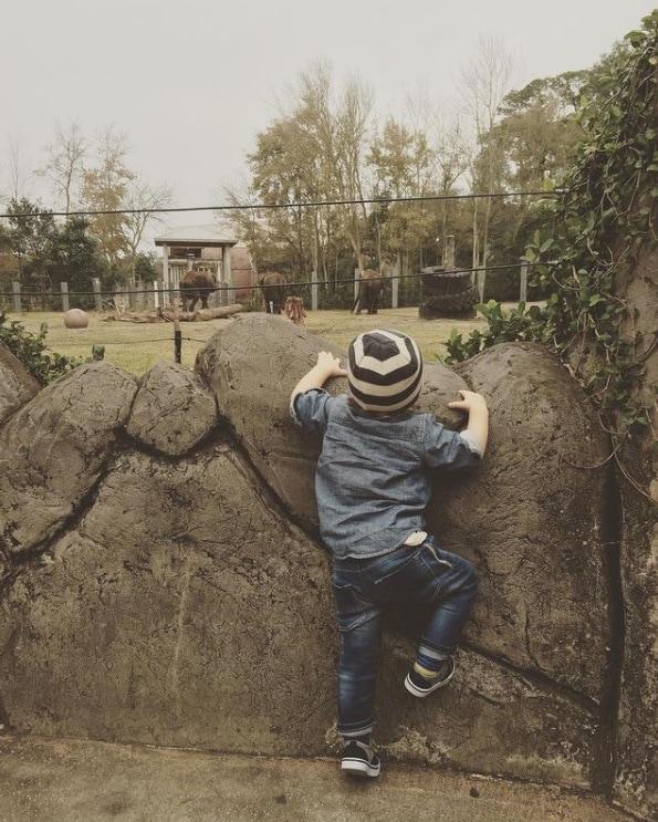 O pequeno Theo, que é filho de Sandy e Lucas Lima