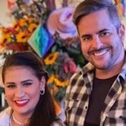 Simone e Kaká Diniz mostraram a filha de caipirinha