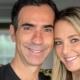 Ticiane Pinheiro e Cesar Tralli surgiram com a filha