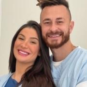 Bianca Andrade e Fred mostraram o rosto do seu filho recém-nascido