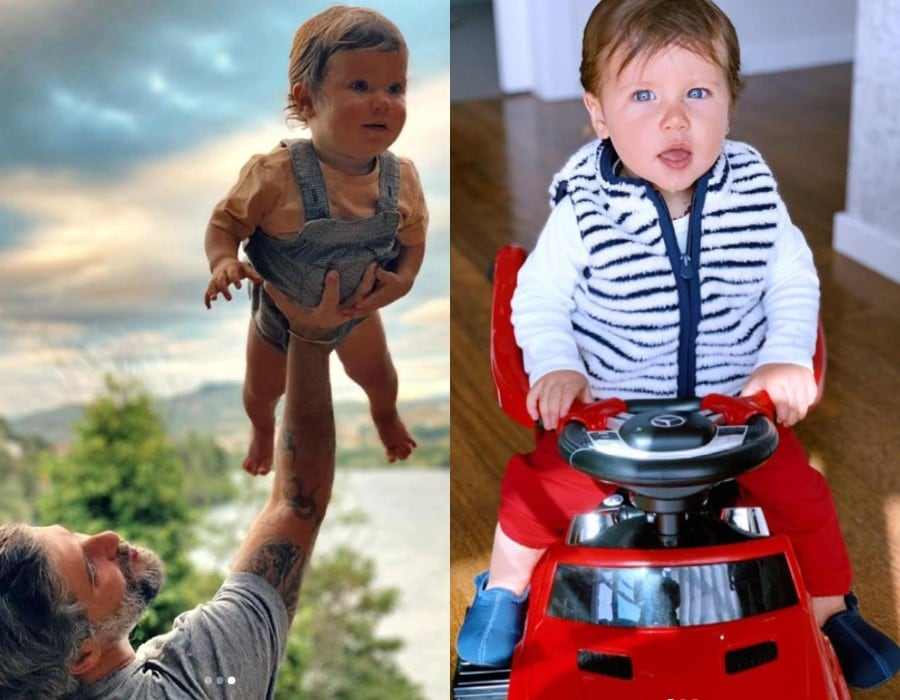 Bruno Gagliasso celebrou o primeiro ano do filho com estas lindas fotos
