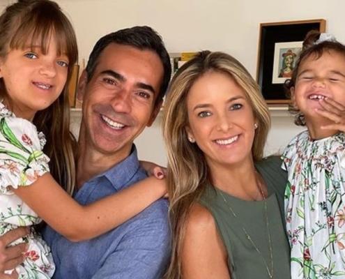 César Tralli e Ticiane Pinheiro fez linda festa para sua filha