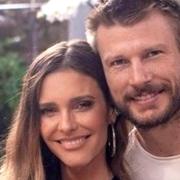 Fernanda Lima e Rodrigo Hilbert posaram com sua filha