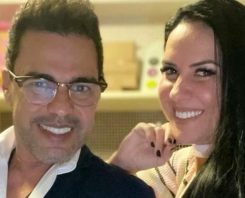 Graciele Lacerda contou se está grávida de Zezé Di Camargo