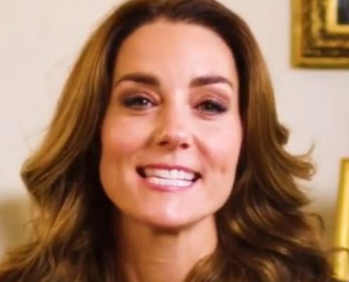 A duquesa Kate Middleton está celebrando o aniversário do príncipe George