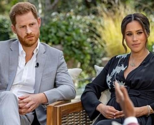 Família real tomou decisão sobre a filha de Meghan Markle e príncipe Harry