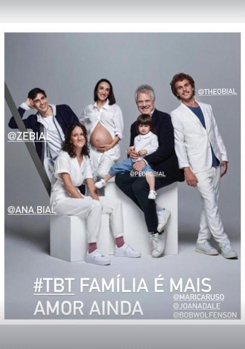 Pedro Bial em rara aparição com seus filhos