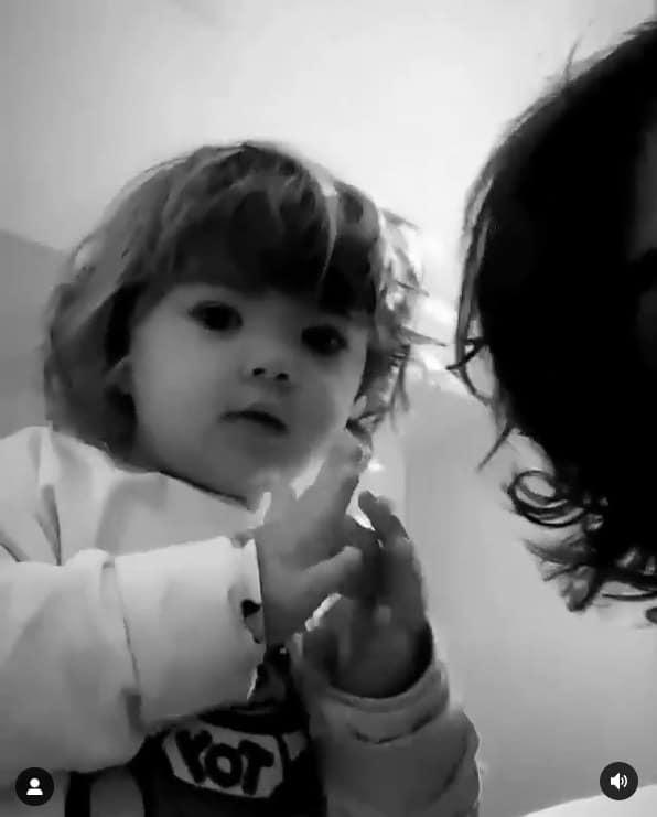 Rafael Vitti junto com sua filha, a pequena Clara Maria