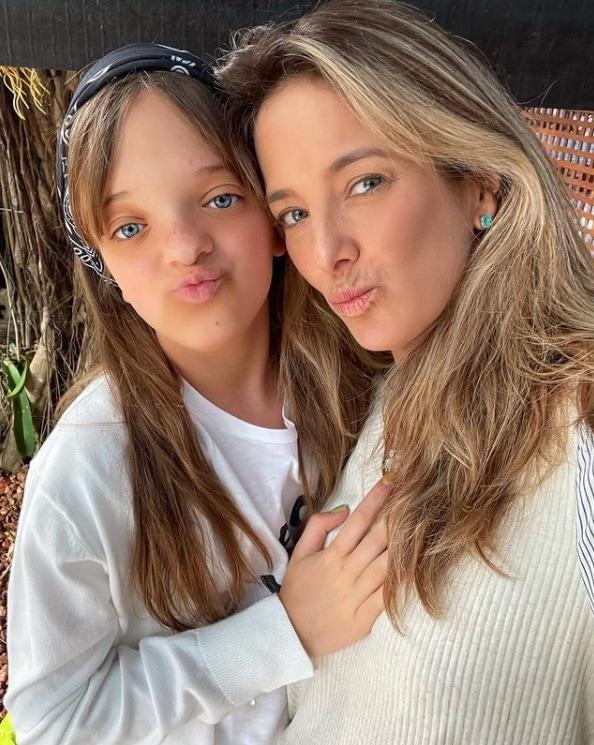 Rafaella Justus e Ticiane Pinheiro em férias da família