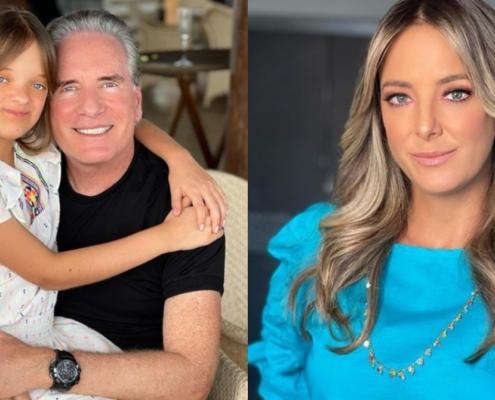 Roberto Justus está de férias com a filha com Ticiane Pinheiro