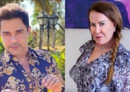 Zezé Di Camargo e Zilu estão comemorando os dois anos do neto
