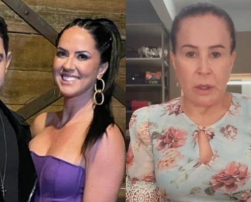 Zezé Di Camargo e Graciele Lacerda rebateram Zilu após polêmicas
