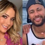 Carol Dantas e Neymar surgiram com o filho em iate