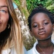 Giovanna Ewbank mostrou sua primeira foto com Bless