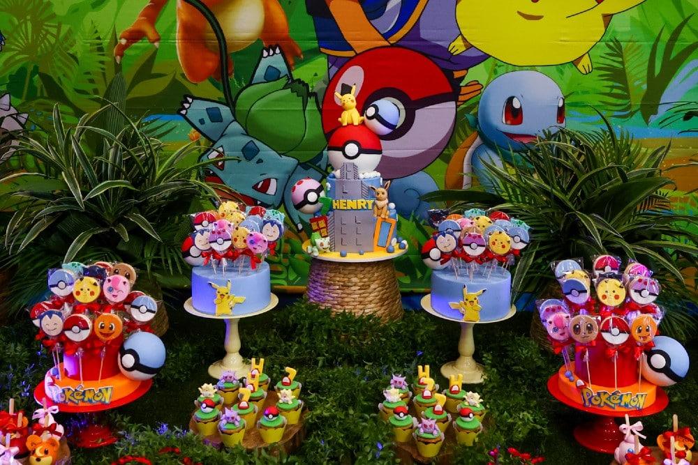 A linda festa de aniversário do filho de Simone
