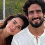 Thaila Ayala e Renato Góes estão esperando seu primeiro filho