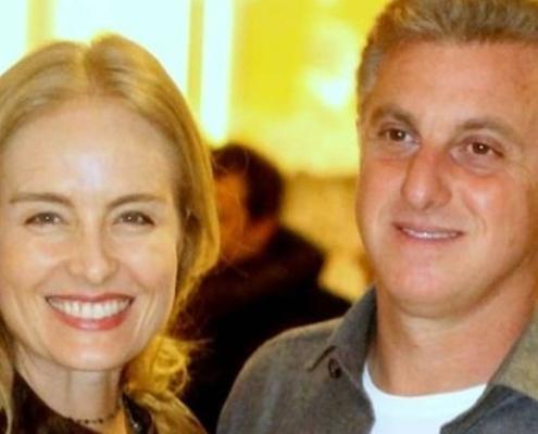 Angélica apareceu com sua filha mais nova com Luciano Huck