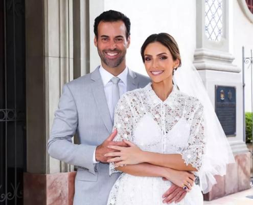 Carol Celico, ex-mulher do jogador Kaká, se casou novamente