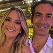 César Tralli compartilhou uma foto da família