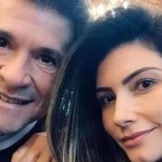Daniel e sua esposa Aline de Pádua estão de férias antes da filha nascer