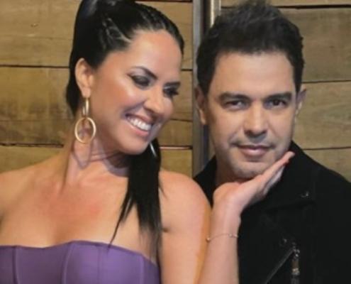 Graciele Lacerda explicou se está grávida de Zezé Di Camargo
