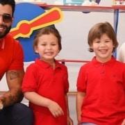 Gusttavo Lima e Andressa Suita tiveram um susto com seus filhos