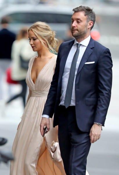Jennifer Lawrence e o empresário Cooke Maroney estão juntos desde 2018